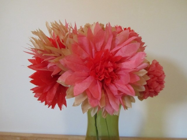 Diy flowers super easy extra pretty paper peonies the hairpin everyone knows that if you want your house to appear clean appealing and generally worth visiting you should always have some fresh flowers on display mightylinksfo Gallery