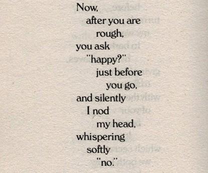Poems rough relationship 14 Sensual