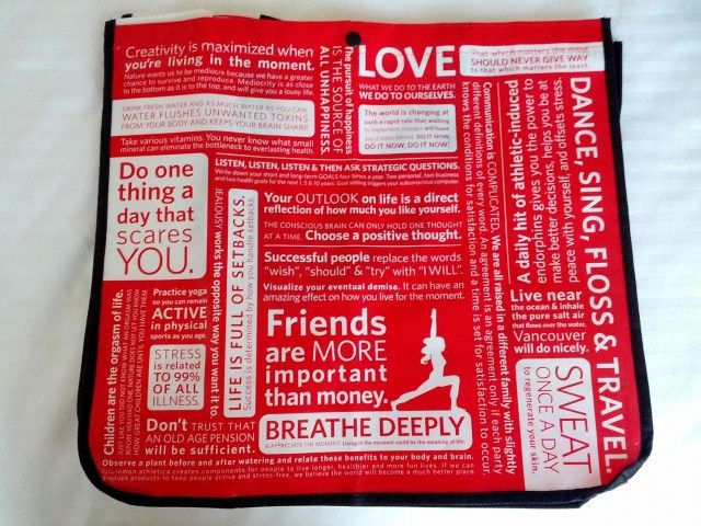 The 10 Least Inspiring Sentences On This Lululemon Tote