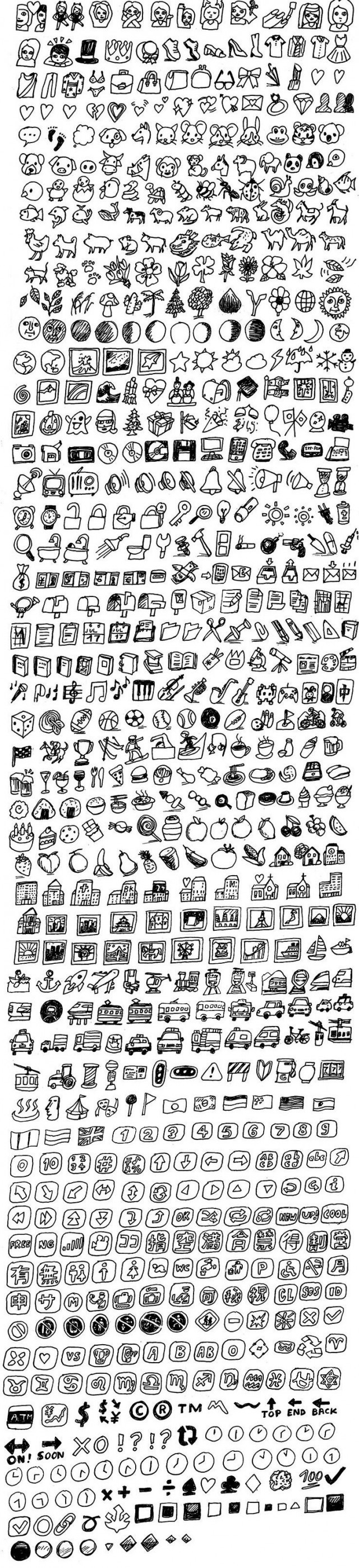All the Emojis, Drawn - The Hairpin