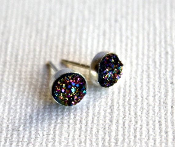 22k Gold Wedding Band 86 Cool Druzy Almost any gem