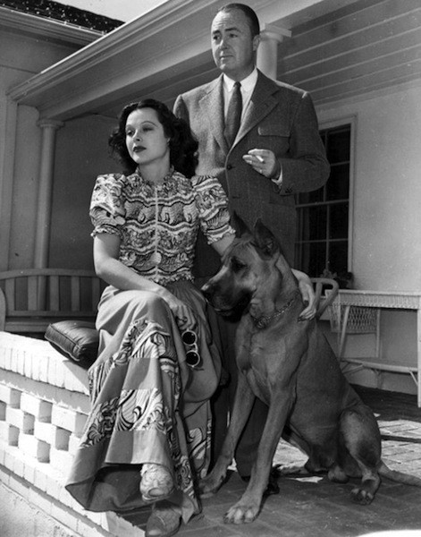 Image result for hedy lamarr and fritz mandl