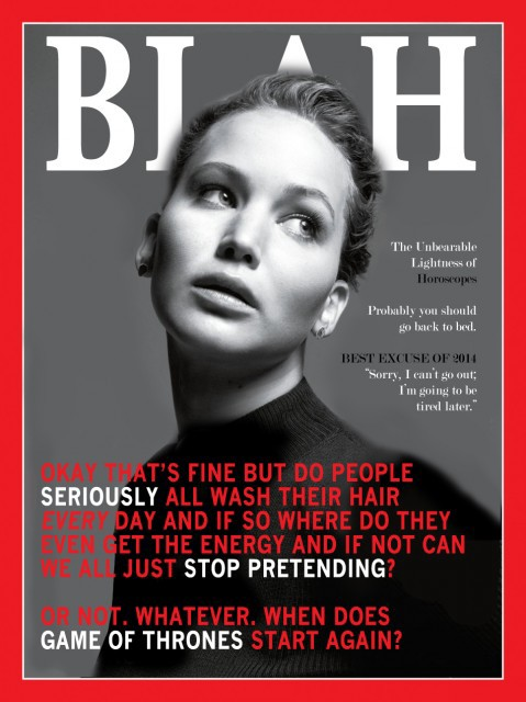BLAH: A Lifestyle Magazine For The Depressed Woman