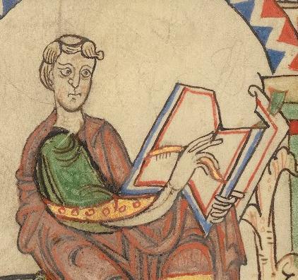 1--Eadmer of Canterbury Writing ca 1140