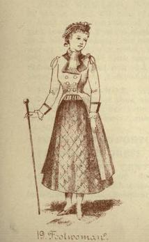 Halloween - footwoman