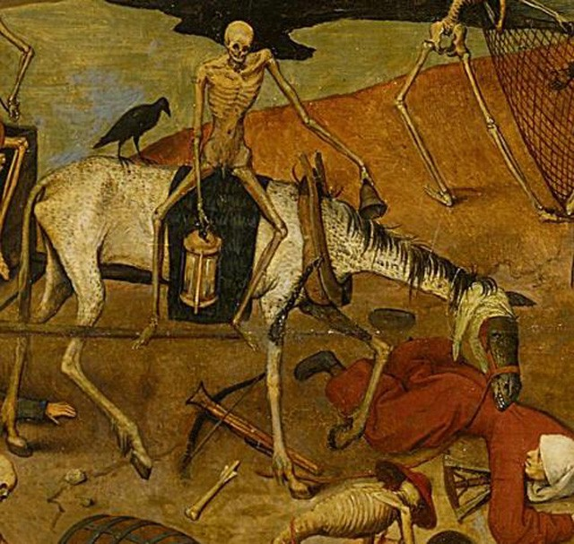 Triumph of Death by Pieter Bruegel I PARTIAL 2--horse
