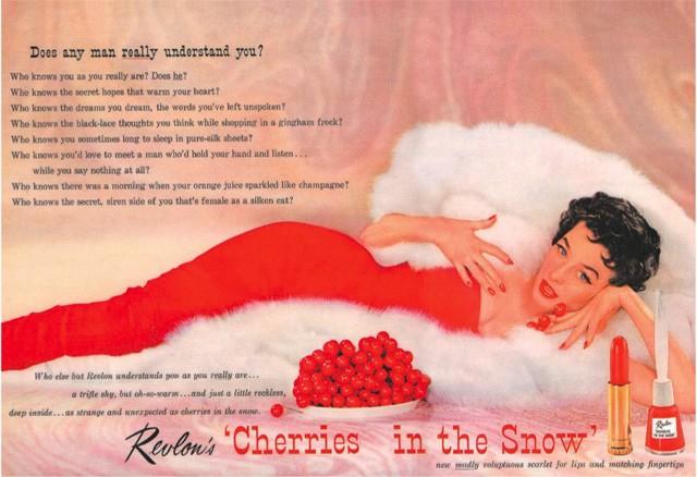 Revlon - Cherries In The Snow Ad