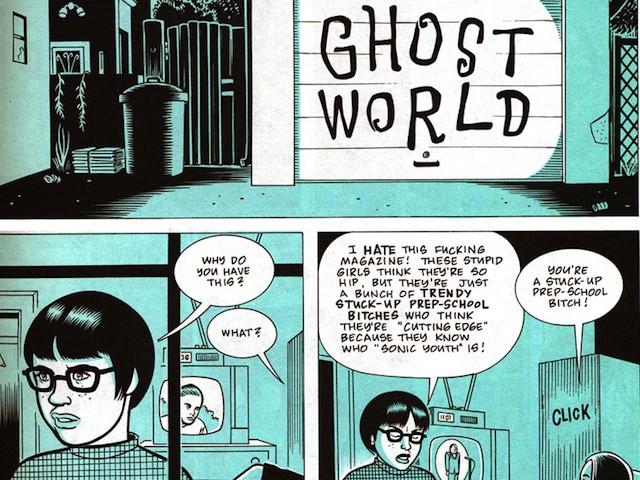 Resultado de imagen para Ghost World comic