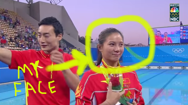 Please Dont Propose To Your Girlfriend During Her Olympic Medal
