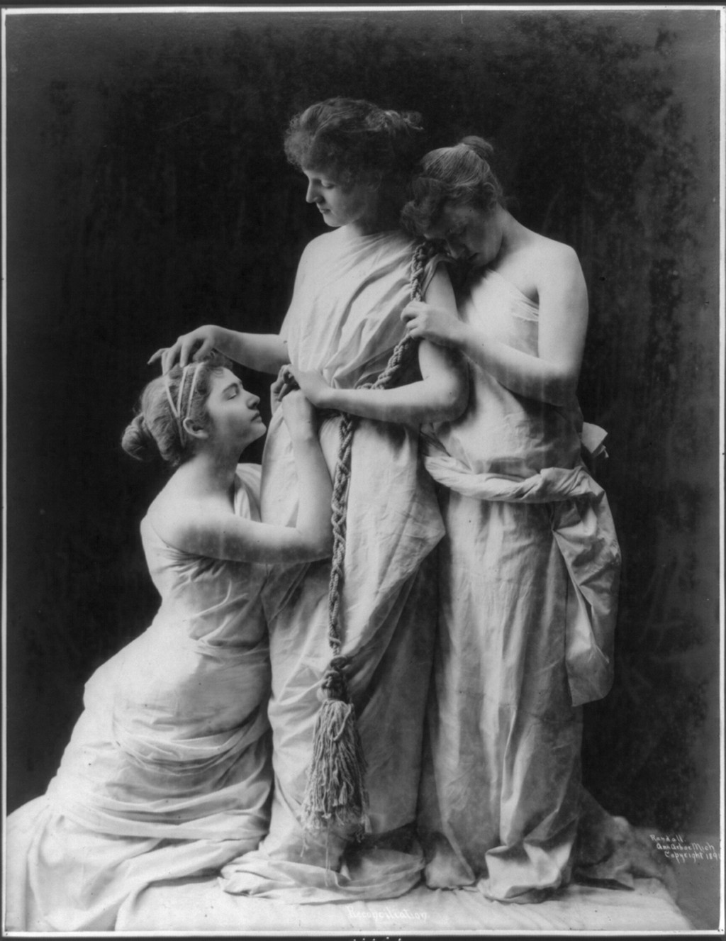 The victorian nude woman