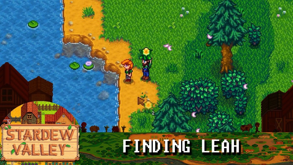 I'm In Love With Leah From 'Stardew Valley' - The Hairpin