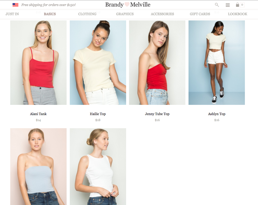 In Which Silvia Learns About Brandy Melville - The Hairpin